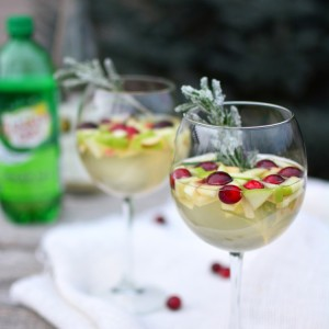 White Holiday Sangria - PictureTheRecipe