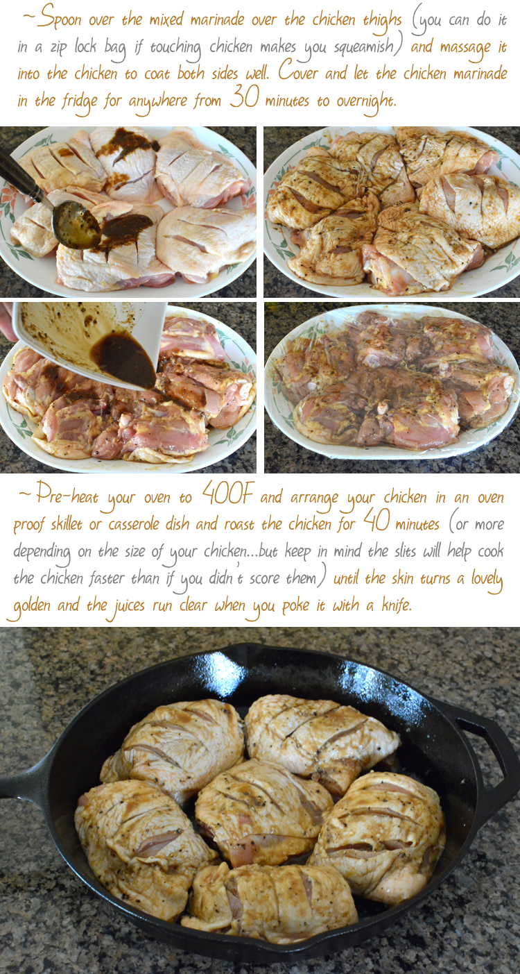 Black Pepper Roasted Chicken Recipe- PictureTheRecipe.com (Part2)
