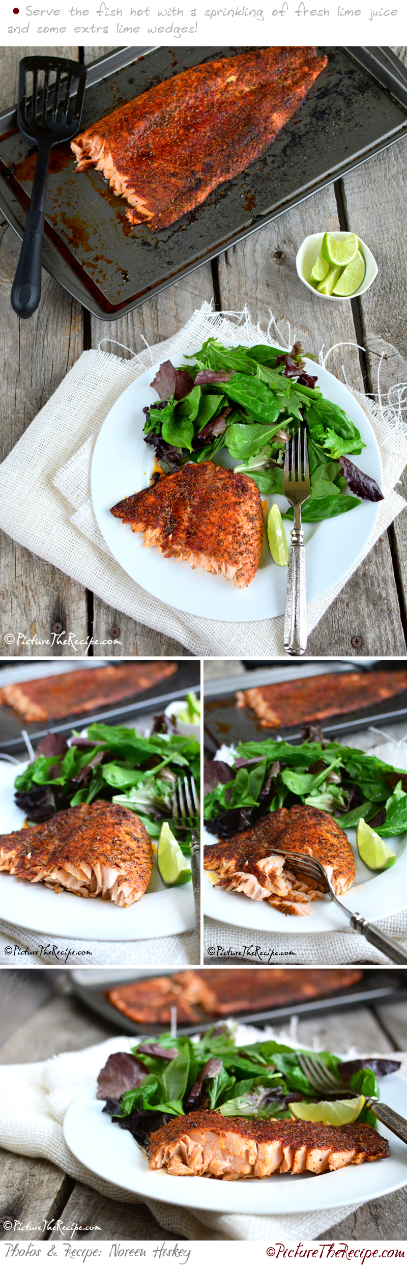 Blackened Salmon Recipe - PictureTheRecipe.com