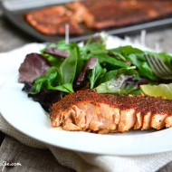 Blackened Salmon with Homemade Seasoning by PictureTheRecipe com