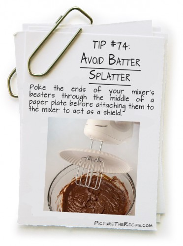Avoid Batter Splatter
