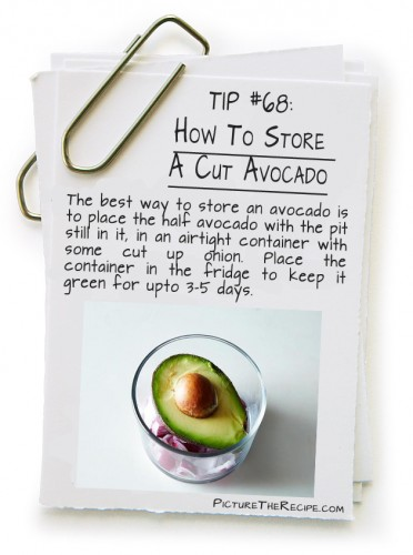 How To Store A Cut Avocado