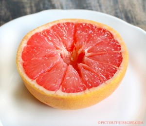 Plain Grapefruit- PictureTheRecipe com