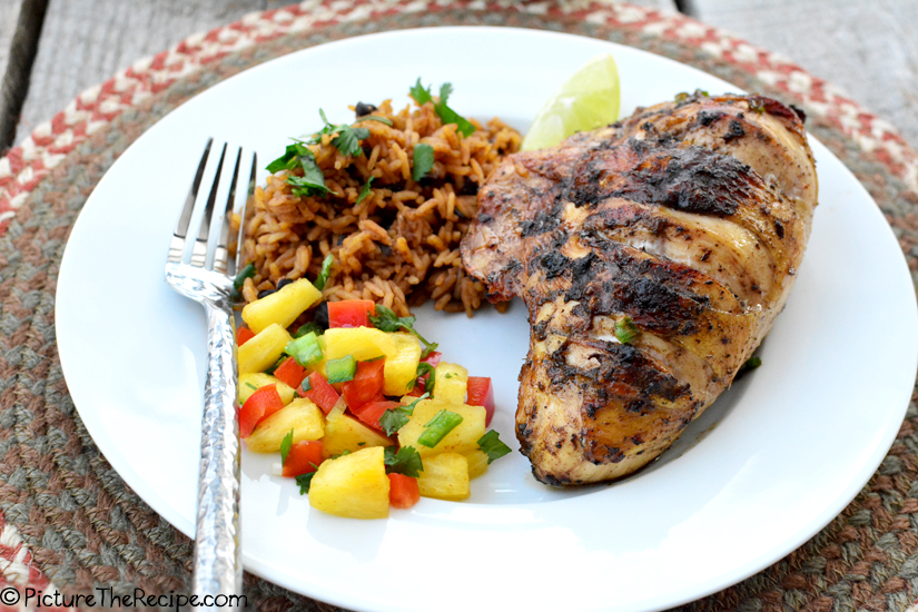 Jamaican Jerk Chicken - PictureTheRecipe com
