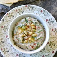 Baba Ganoush (Middle Eastern Eggplant Dip)