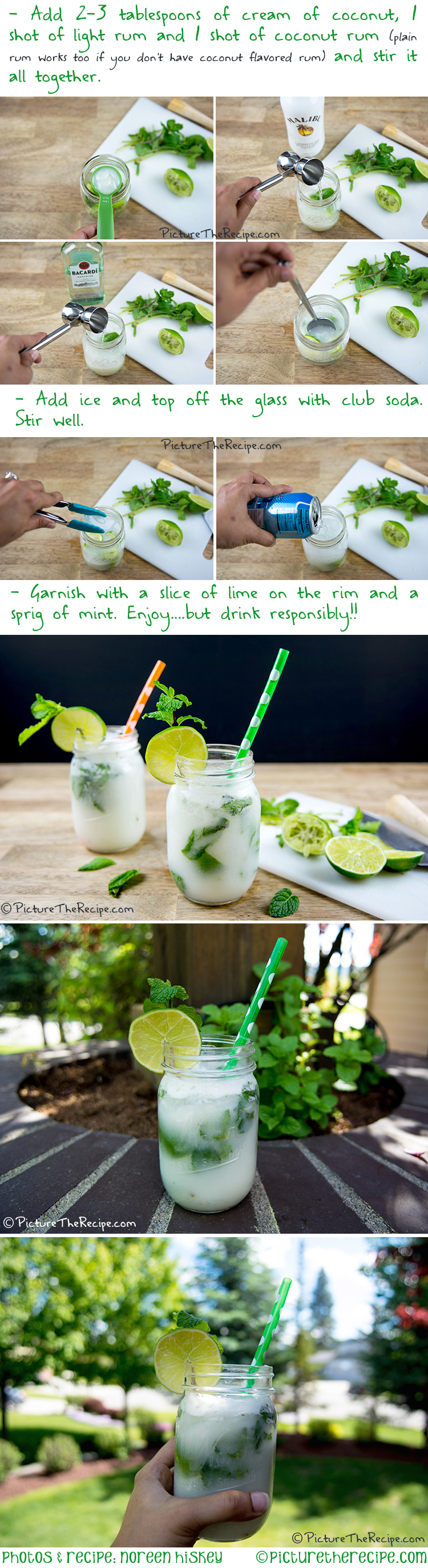 Coconut Mojito Recipe by PictureTheRecipe com Part-2