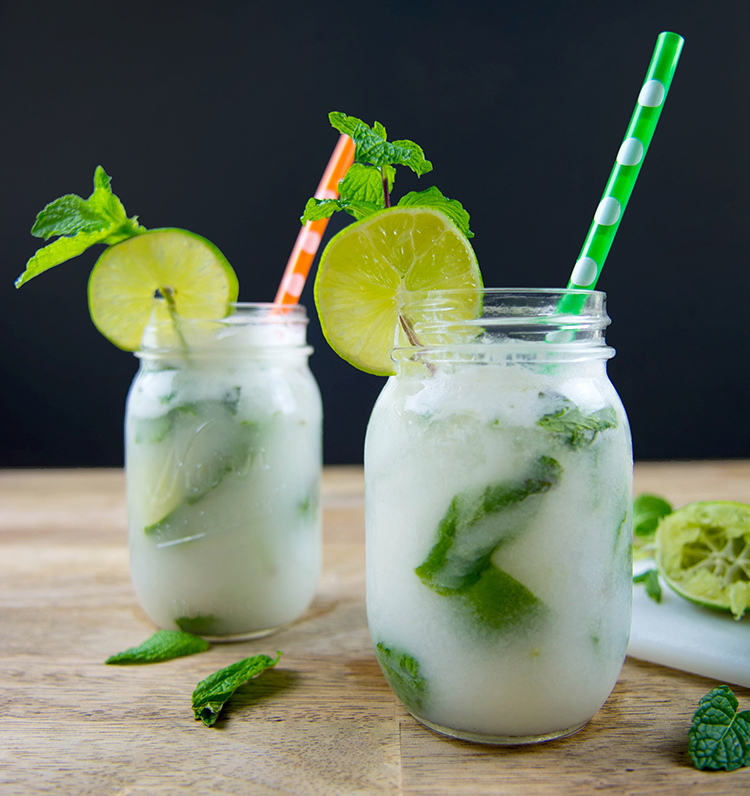 Coconut And Rum Drink Simple