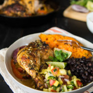 Cuban Mojo Roast Chicken (Whole30/Paleo)