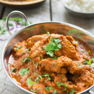 Indian Restaurant- Style Chicken Masala