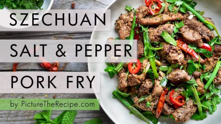 Szechuan Salt & Pepper Pork Fry