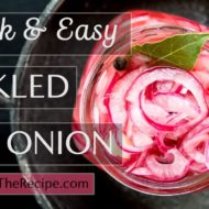 Easy Pickled Red Onion