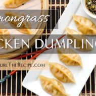 Lemongrass Chicken Gyoza