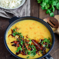 Indian Style Lentils (Dal Tadka)