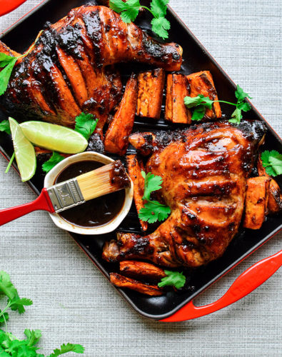 Sticky Tamarind Chicken