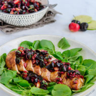 Grilled Chicken with Fresh Cherry Salsa