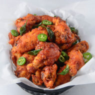 Chicken 65 Wings (Indian Masala Fried Wings)