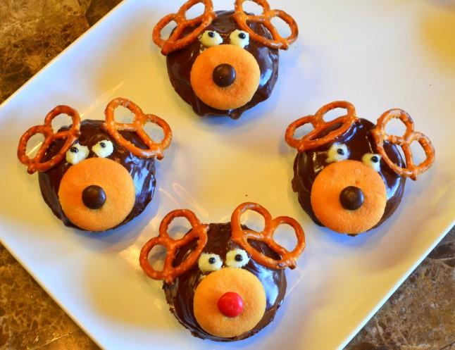 Rudolph & Friends Cupcakes or Brownies
