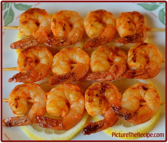 Spicy Shrimp with Lemon