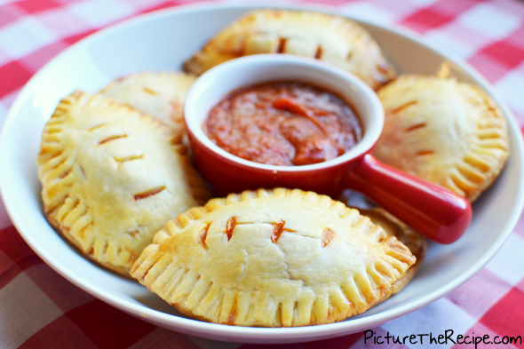 Game Day Snacks: Football Pizza Pockets