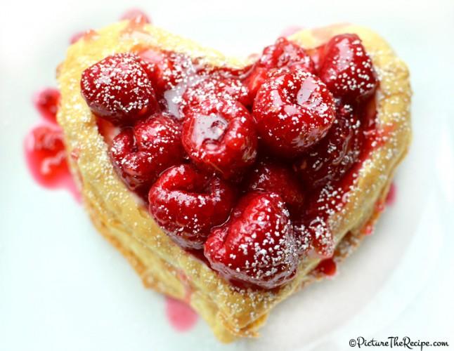 Valentine's Day Dessert: Raspberry Napoleon