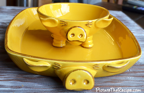 Adorable Pig Dishes