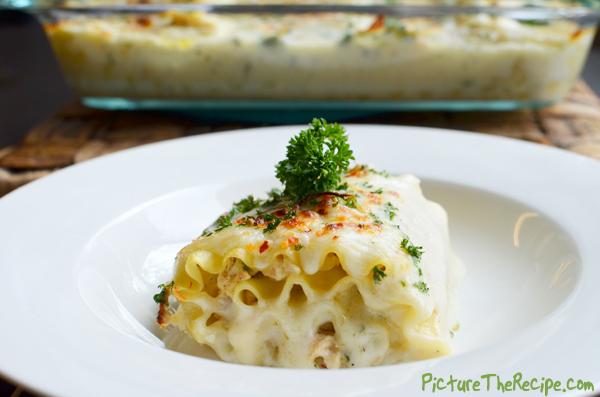 Tuna Lasagna Rolls
