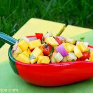 Thai Inspired Sweet & Spicy Mango Salad
