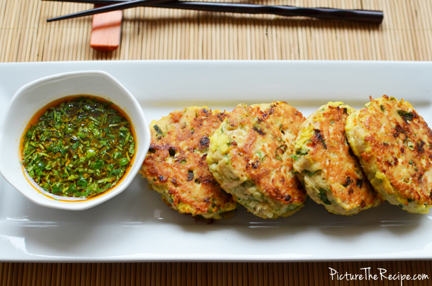 Spicy Tuna Fish-Cakes