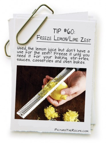 Freeze Lemon/ Lime Zest