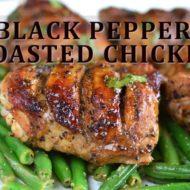 Black Pepper Roasted Chicken