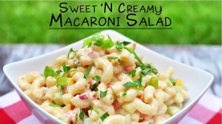 Sweet N Creamy Macaroni Salad