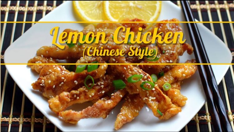 Chinese Style- Lemon Chicken