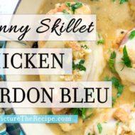 Skinny Chicken Cordon Bleu