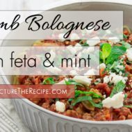 Spaghetti & Lamb Bolognese