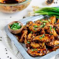 Black-Pepper Soy Chicken Wings