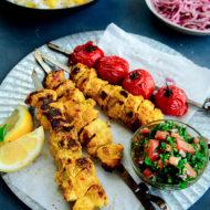 Persian Chicken Joojeh Kebabs