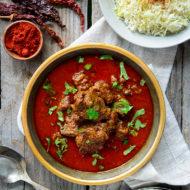 Rogan Josh (Mutton/Lamb in a Kashmiri chilli pepper gravy)